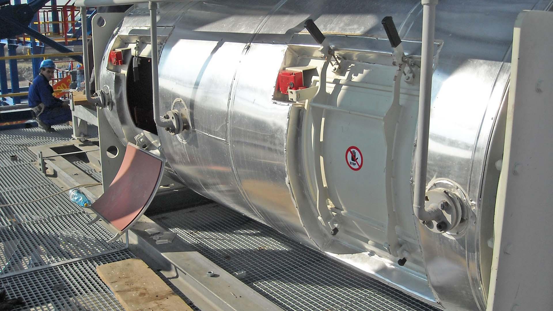Kontinuierlicher Pflugscharmischer WAH in der petrochemischen Industrie - Mischer für die chemische Industrie