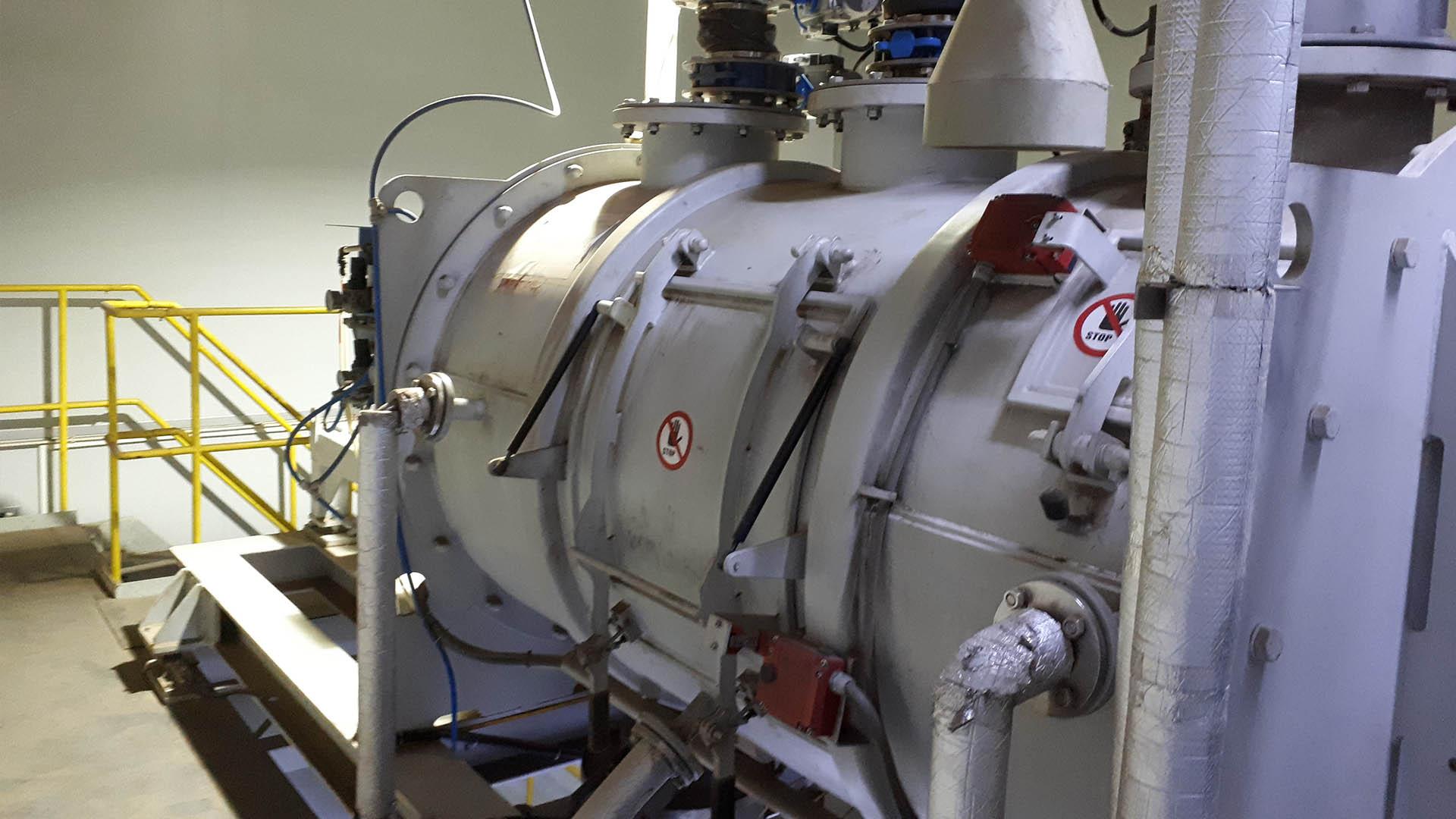 Chargenmischer WBH in der Batteriefertigung - Mischer für die chemische Industrie